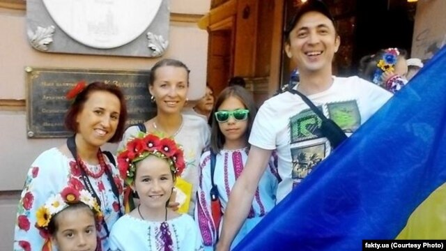 Pyotr Lyubchenkov, a political activist from Russia seeking asylum in Ukraine, faces extremism charges back home.