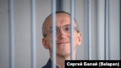 Канстанцін Бурыкін падчас суду, ліпень 2017 году