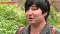 Мать, попросившая арестовать ее на 8 суток после приговора дочери. Интервью после освобождения