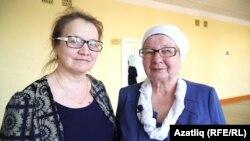 Карабашның икенче урта мәктәбе укытучылары Зәлия Камалтдинова һәм Әлфизә Сәгъдиева