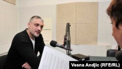 Čedomir Jovanović u razgovoru sa novinarkom RSE Brankom Mihajlović