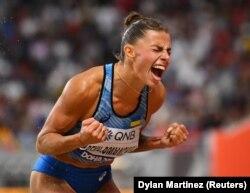 Марина Бех-Романчух на чемпіонаті світу з легкої атлетики