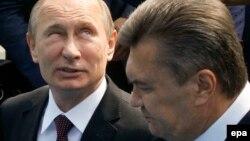 Уладзімер Пуцін і Віктар Януковіч