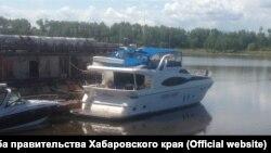 """Яхта """"Виктория"""", принадлежащая правительству Хабаровского края"""