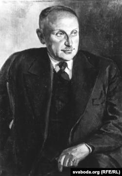Пётра Сергіевіч. Партрэт Яна Станкевіча. Вільня, пачатак 1940-х гг.