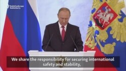 Putin Says Russia Ready To Work With U.S. On Global Problems