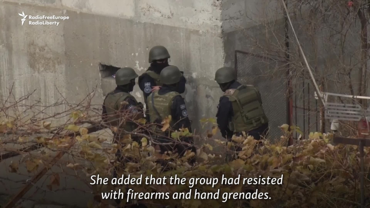 Militants found in Georgia who were trained to carry out terrorist acts in Russia 15.01.2010 32