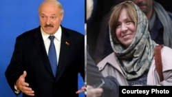 Belarus - Alexander Lukashenka and Svetlana Alexievich, Courtesy Photo