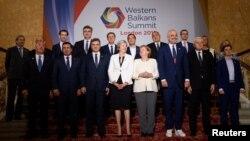 Foto nga samiti për Ballkanin Perëndimor, i mbajtur në Londër.
