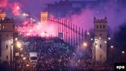 Варшавадағы Тәуелсіздік маршы. 11 қараша 2014 жыл.