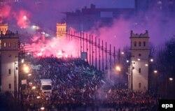 Марш незалежнасьці ў Варшаве, 2014 год