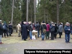 Алексей Девотченко похоронен недалеко от могилы Анны Ахматовой