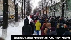 Акция 23 января в Перми