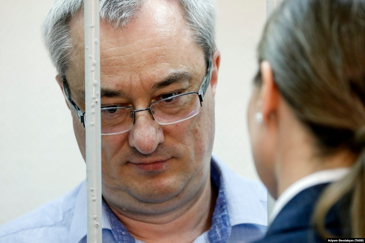 Former Russian Governor Sentenced To 11 Years In Prison On Corruption Conviction