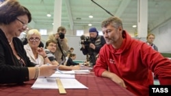 Евгений Ройзман, победивший на выборах кандидат в мэры Екатеринбурга