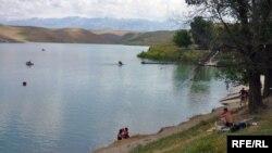 Оңтүстік Қазақстан облысындағы Тоғыс су қоймасы. Көрнекі сурет.
