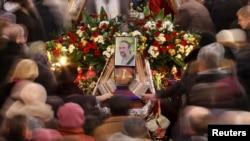 Похороны Юрия Вербицкого (Львов, 24 января 2014 года)
