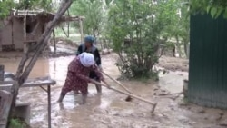 Flooding, Mudslides Destroy About 100 Homes In Tajikistan