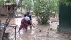 Flooding, Mudslides Destroy About 100 Homes In Tajikistan
