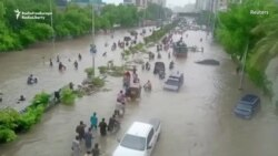 Pakistani City Of Karachi Paralyzed By Deadly Flooding
