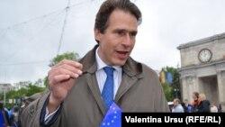 Gunnar Wiegand la festivitățile de Ziua Europei de la Chișinău