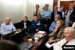 Обама та інші члени президентської адміністрації стежать за операцією з ліквідації бін Ладена