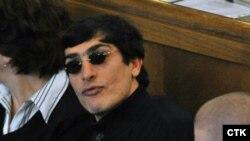 Անդրանիկ Սողոյանը Պրահայի դատարանում: 18-ը հոկտեմբերի, 2010 թ.: