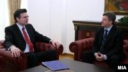 Известувачот на Европскиот парламент Зоран Талер на средба со претседателот Ѓорѓе Иванов