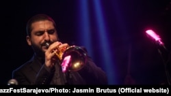 Ibrahim Maalouf na Jazz Fest Sarajevo, 2014.