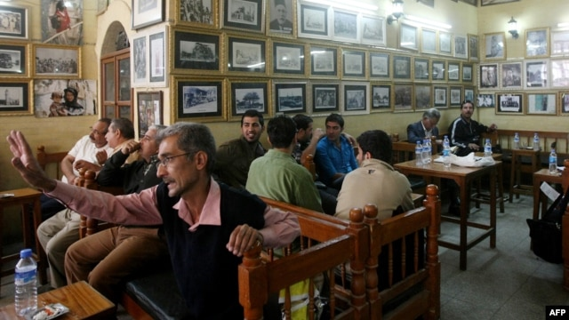 Liquor licenses in Baghdad are only given only given to Christians or members of other non-Islamic sects although patrons can be from all backgrounds