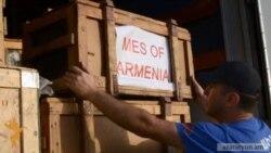 Մարդասիրական օգնություն՝ Հայաստանից Իրանին
