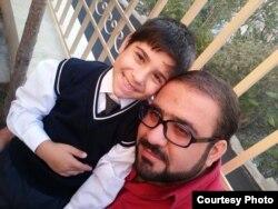 Cəlil Cavanşir oğlu ilə