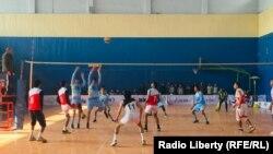 په کابل کې د والیبال ټاکنیزو سیالیو یو انځور