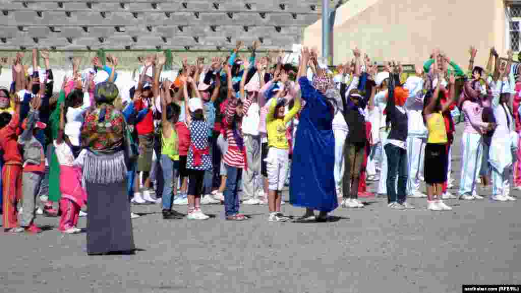 School and universities dismiss classes from midday to 3 o'clock every afternoon so that students can take part in training sessions in nearby stadiums.