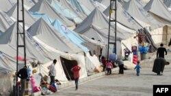 Sirijske izbeglice u kampu Karkamis kod Gaziantepa na jugu Turske