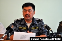 """The commandant of Osh city and province, Bakyt Alymbekov, """"failed in his duty to ensure that human rights were respected during the restoration of order,"""" the KIC found."""