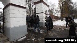 Ушанаваньне памяці ахвяраў сталінскіх рэпрэсіяў на Кальварыйскіх могілках