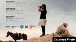 Эстонияда өтүп жаткан кыргыз киносунун жумалыгынын көрнөгү. (Сүрөттөр Г. Төлөмүшованын интернеттеги баракчасынан алынды).