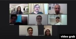 Македонскиот тим на 23-то онлајн издание на Јуниорска балканска математичка олимпијада