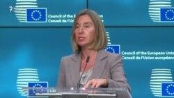 """Mogherini: """"Considerăm foarte îngrijorătoare recentele evoluții din Moldova"""""""