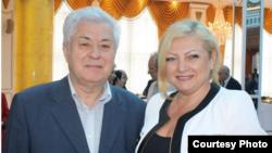 Մոլդովայի օմբուդսմեն Աուրելիա Գրիգորիուն ընդունելության է մասնակցում Քիշնեւում Ադրբեջանի դեսպանատանը, 28-ը մայիսի, 2013թ․