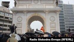 """На 6 јануари свечено беше промовирана """"Порта Македонија"""". Цената на објектот од вчера е зголемена за 820 илјади евра."""