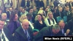 Pamje e pjesëmarrësve të Forumit biznesor Serbi - Shqipëri në Nish