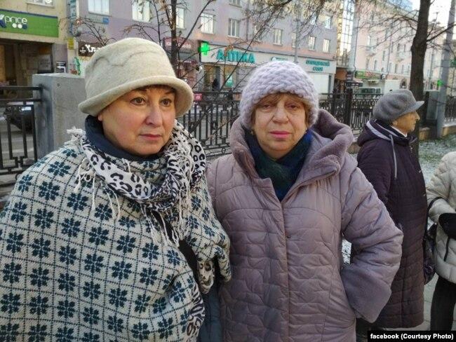 Анна Пастухова и журналистка Лия Гинцель