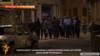 Կադր` ոստիկանության տրամադրված տեսանյութից, որտեղ երևում է, թե ինչպես են զենքերը վայր դրած «Սասնա ծռերը» հանձնվում իրավապահներին, արխիվ