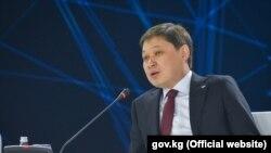 Прэм'ер-міністар Кыргызстану Сапар Ісакаў