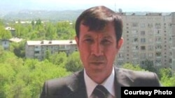 Uzbek journalist and rights activist Dilmurod Sayyid