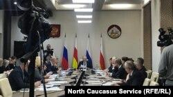 Заседание парламента Северной Осетии