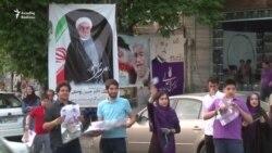 Tehran küçələrində prezident seçkisi müzakirəsi
