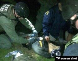 Затримання Джохара Царнаєва, 19 квітня 2013 року